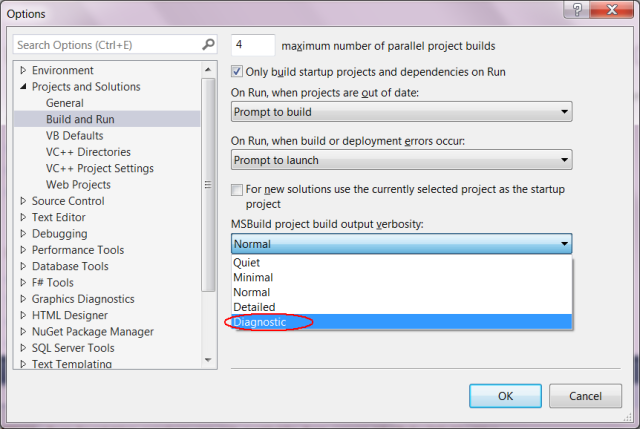 Visual Studio Projects that Just Keep Rebuilding, or: How